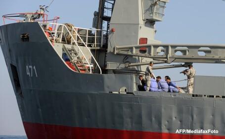 The Telegraph: O armata internationala din 25 de tari e in Golful Persic, gata sa atace Iranul