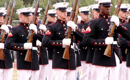 Americanii conduc operatiunile navale din Golful Persic la care participa 23 de tari