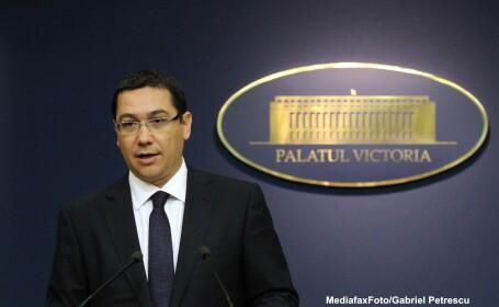 Victor Ponta: Pentru licitatia de vineri de la Oltchim anticipez un spectacol mediatic