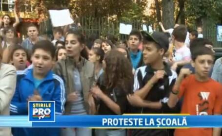 protest Scoala 169