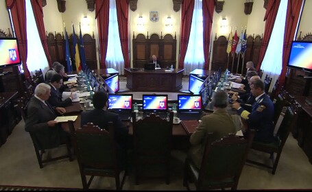Concluzia CSAT: Guvernul sa prezinte un program de restabilire a capacitatii de lupta a Armatei