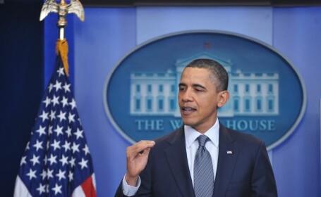 Obama indeamna comunitatea internationala sa nu ramana \
