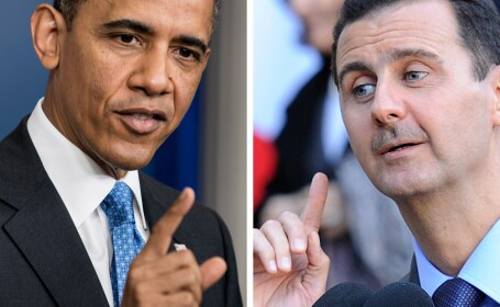 Barack Obama, Bashar al-Assad
