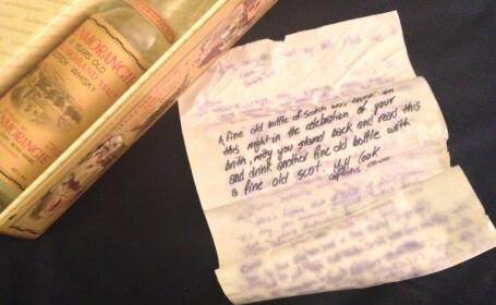 Mesajul lasat de tatal lui intr-o sticla veche de 21 de ani. Ce i-a scris fiului sau. FOTO