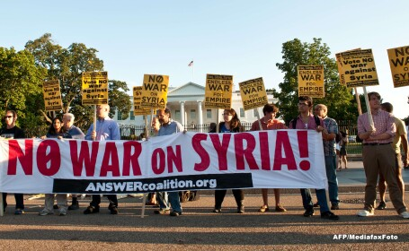 Sondaje in Franta si SUA. Americanii se opun unor atacuri in Siria, iar francezii vor in Parlament