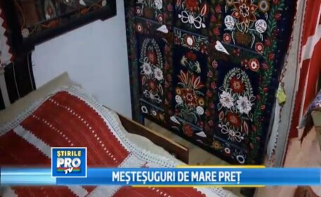 Mestesuguri de mare pret. Mobila pictata manual, o traditie pastrata cu sfintenie in judetul Cluj