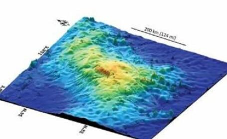 Cel mai mare vulcan din lume este ascuns in apele Oceanului Pacific