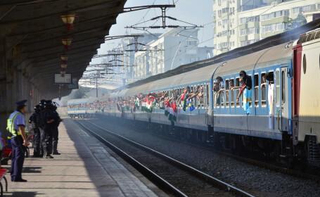 tren suporteri unguri