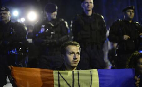 Proteste impotriva proiectului de la Rosia Montana. 1.000 de persoane, in fata televiziunii publice