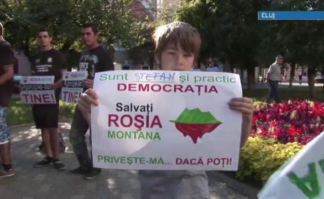 rosia montana protest