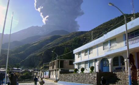 Autoritatile din Peru au decretat stare de urgenta in zona Vulcanului Ubinas