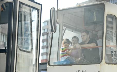 Un barbat a fost calcat de tramvai, vineri, in Capitala