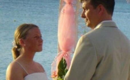 Poza de nunta pe care mireasa nu o vrea in album. \