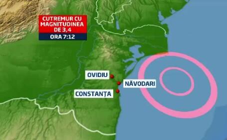 cutremur, litoral