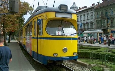 tramvai in Arad