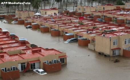Situatie meteorologica fara precedent in Mexic in ultimii 55 de ani. Furtunile au ucis 80 de oameni