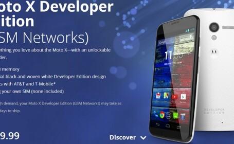 Moto X pentru dezvoltatori