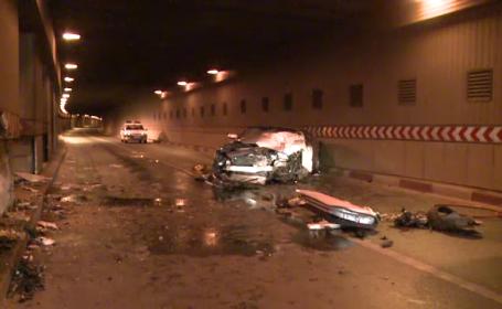 Accident violent in Pasajul Unirii din Capitala. Un barbat a ajuns in stare grava la spital