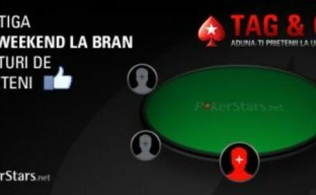 Super CONCURS Tag&Go! Castiga un weekend la Bran, la cea mai tare masa de poker