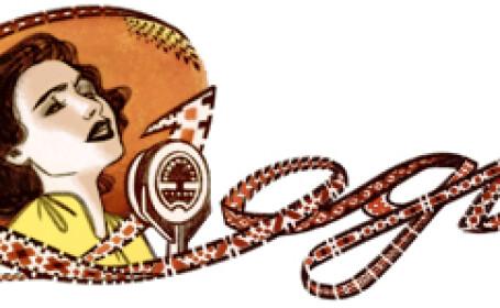 maria tanase, google doodle