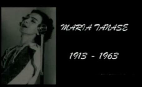 MARIA TANASE, 100 de ani de la nastere. Povestea uneia dintre cele mai mari voci ale Romaniei