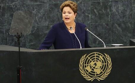 Scandal intre Brazilia si SUA din cauza interceptarilor americane asupra presedintelui Rousseff