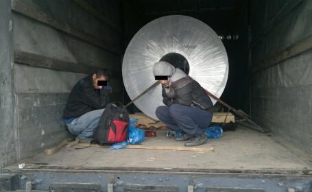 sirieni ascunsi in remorca