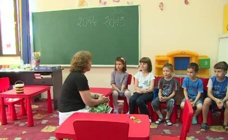Elevii si liceenii care au inceput scoala inainte de 15 septembrie. \
