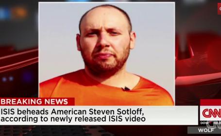 Decapitarea americanului Steven Sotloff ar fi fost publicata \