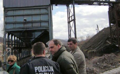 Zeci de mineri au ramas blocati intr-o mina din Bosnia, in urma unui cutremur. Care este starea celor 34 de persoane