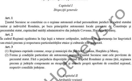 Cum vor maghiarii sa retraseze granitele Romaniei