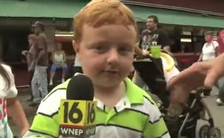 """""""Apparently Kid"""" a devenit """"Seriously Kid"""". Pustiul care a amuzat o lume intreaga a fost invitatul lui Ellen DeGeneres. VIDEO"""