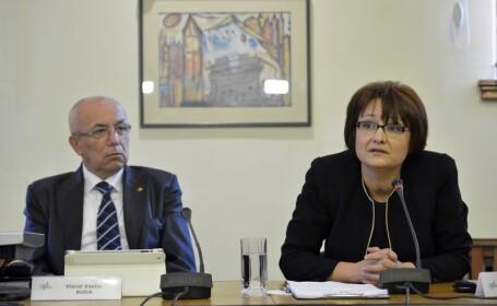Viorel Vasile Buda si Laura Georgescu