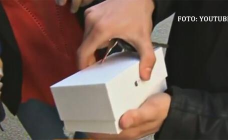 Ce a patit primul australian care si-a cumparat iPhone 6. Totul s-a intamplat sub ochii ingroziti a sute de oameni. VIDEO
