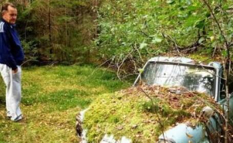 Un finlandez a plecat sa-si caute masina abandonata intr-o padure, in 1974. Cum a gasit-o dupa 40 de ani