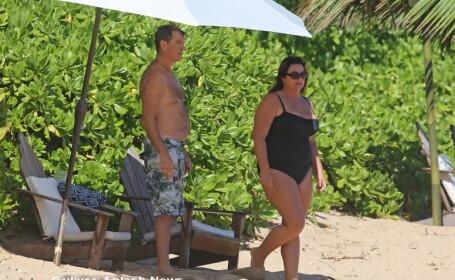 Pierce Brosnan si sotia