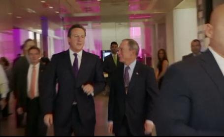 David Cameroon si Michael Bloomberg
