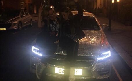 Daria Radionova Mercedes cu Swarowski
