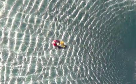 Antrenorul lotului roman de acrobatie, salvat din Marea Egee dupa ce s-a prabusit cu avionul
