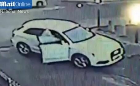 Si-a lasat masina nesupravegheata si cheile in contact, iar un barbat a vrut sa i-o fure. Ce a urmat. VIDEO