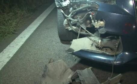 Greasela fatala a unui barbat care mergea pe langa bicicleta pe un drum european. A fost lovit in plin de o masina