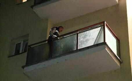 Un tanar de 22 de ani din Cluj a cazut de la etajul trei al unui camin. Prietenii sai spun ca in ultima perioada era abatut