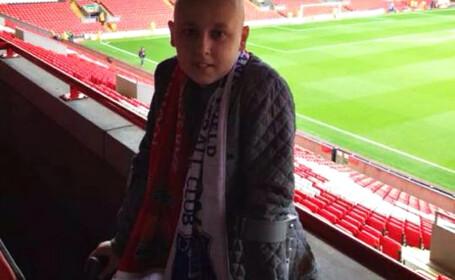 Un copil de 11 ani bolnav de cancer a fugit din spital pentru un moment unic: \