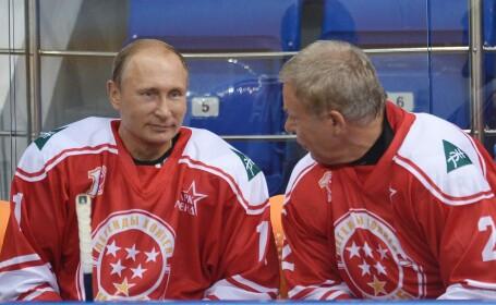 Vladimir Putin a jucat hochei la Soci. Moment tensionat in timpul partidei dintre \