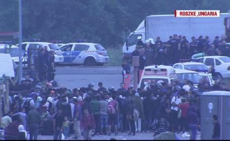 violente imigranti Ungaria