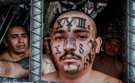 Gangsteri din El Salvador - GETTY