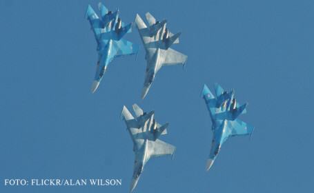 avioane Su-27 rusesti