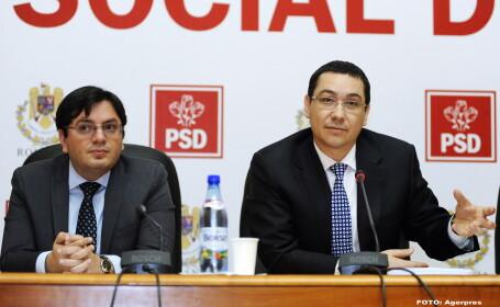 Nicolae Banicioiu, Victor Ponta - AGERPRES