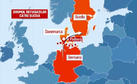 harta imigranti Suedia - stiri