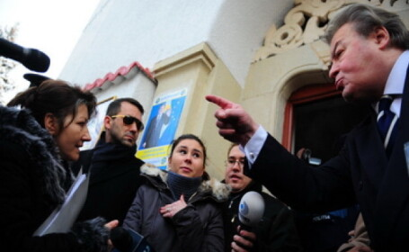 Corneliu Vadim Tudor, scandal executor judecatoresc